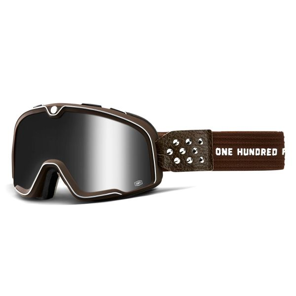 Masque Moto 100% Barstow Garage Mirror Silver Lens
