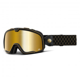 Masque Moto 100% Barstow Roland Sands Mirror Gold Lens