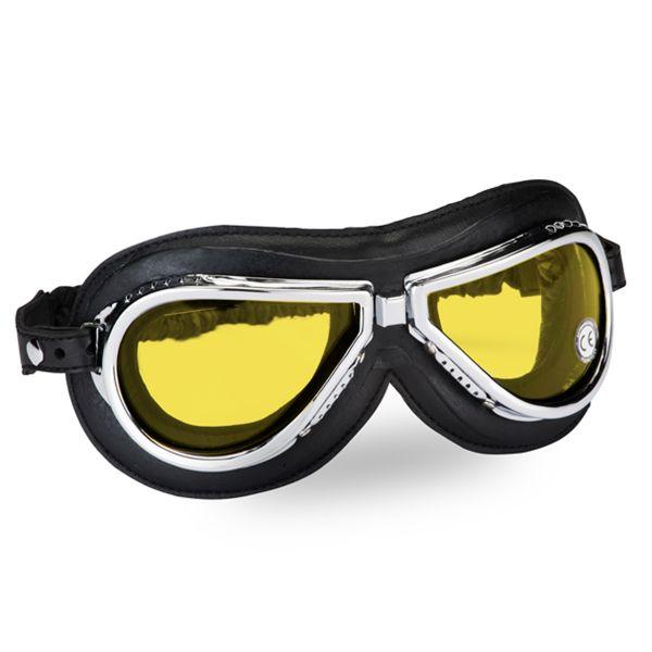 Masque Moto Climax Climax 500A Jaune