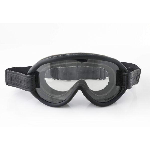 Masque Moto Ethen Scrambler Noir Gris