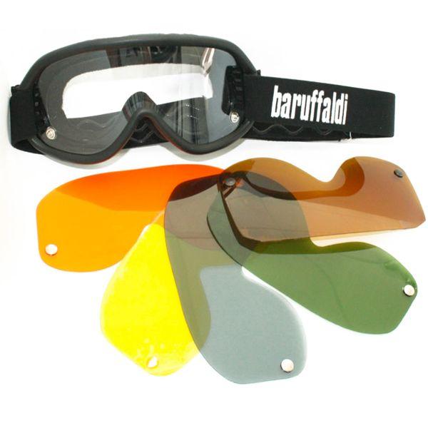 Masque Moto Baruffaldi Speed 4 Black
