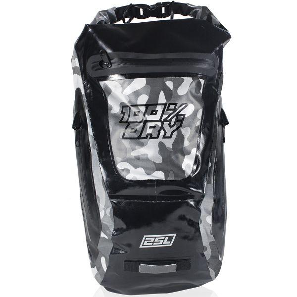 Sac a dos Moto Darts Fusion Camo Black 25L
