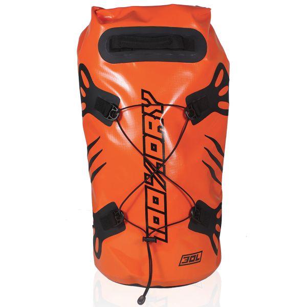 Sac a dos Moto Darts Tube 100% Dry 30L Orange
