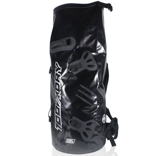 Sac a dos Moto Darts Tube 100% Dry 50L Black