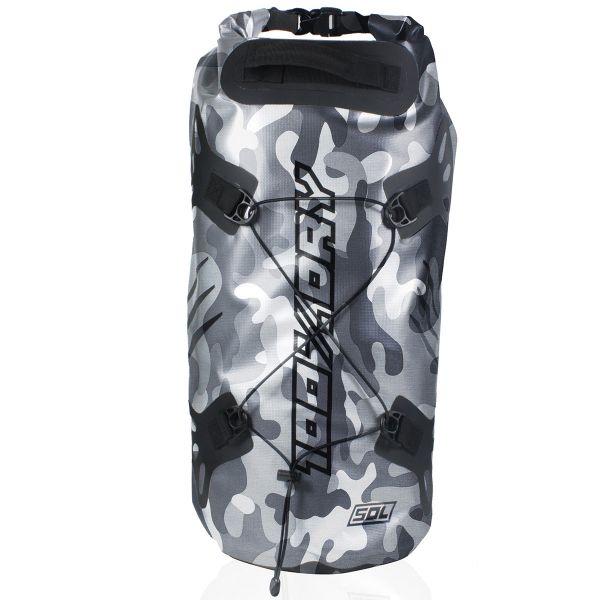 Sac a dos Moto Darts Tube 100% Dry 50L Camo Grey