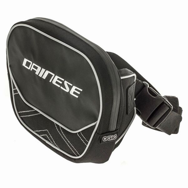 Sac a dos Moto Dainese Waist Bag Stealth Black