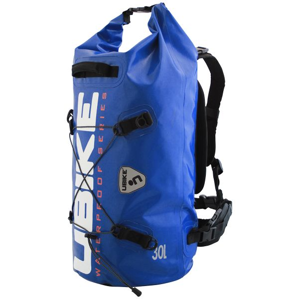 Sac a dos Moto UBIKE Cylinder Bag 30 L Bleu