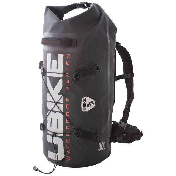 Sac a dos Moto UBIKE Cylinder Bag 30 L Noir