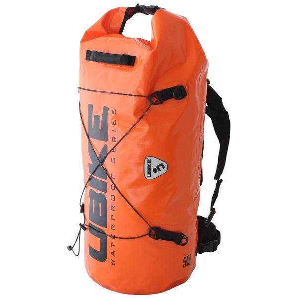 Sac a dos Moto UBIKE Cylinder Bag 30 L Orange