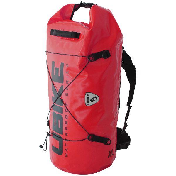 Sac a dos Moto UBIKE Cylinder Bag 30 L Rouge