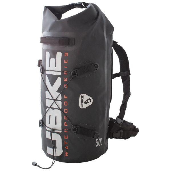 Sac a dos Moto UBIKE Cylinder Bag 50 L Noir
