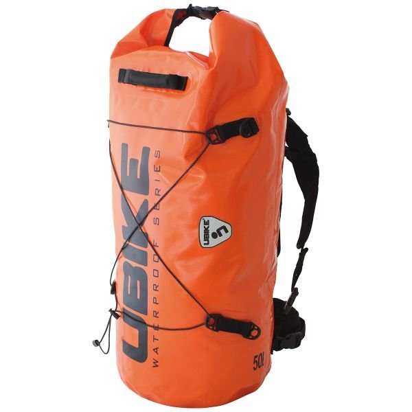 Sac a dos Moto UBIKE Cylinder Bag 50 L Orange