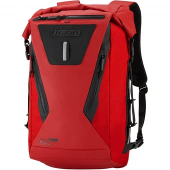 Sac a dos Moto ICON Dreadnaught Backpack Rouge