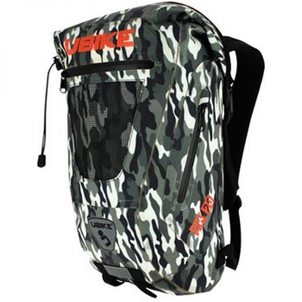 Sac a dos Moto UBIKE Easy Pack + 20L Camo
