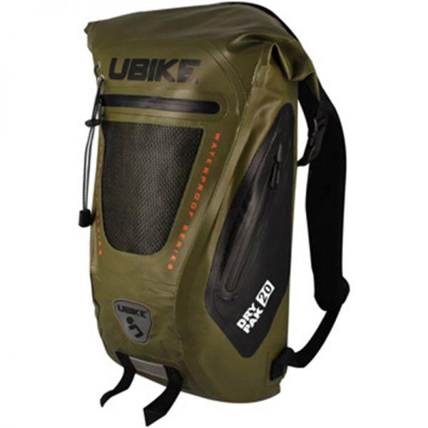 Sac a dos Moto UBIKE Easy Pack + 20L Khaki
