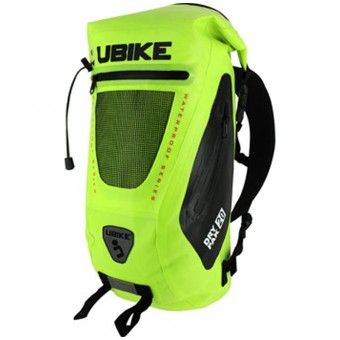 Sac a dos Moto UBIKE Easy Pack + 20L Neon Yellow