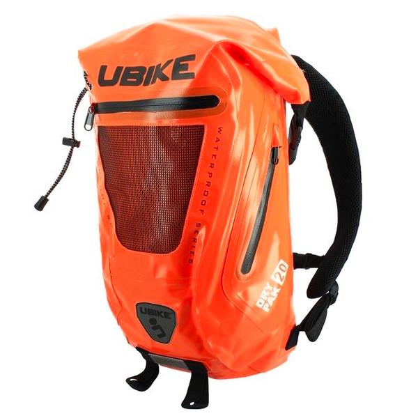 Sac a dos Moto UBIKE Easy Pack + 20L Orange