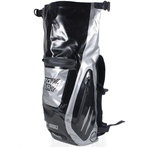 Sac a dos Moto Darts Fusion Black Silver 25L