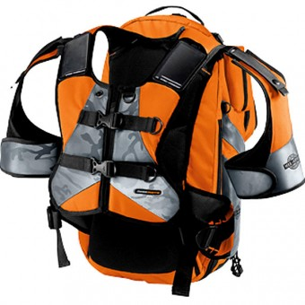 Sac a dos Moto ICON Squad II Pack Mil-Spec Orange