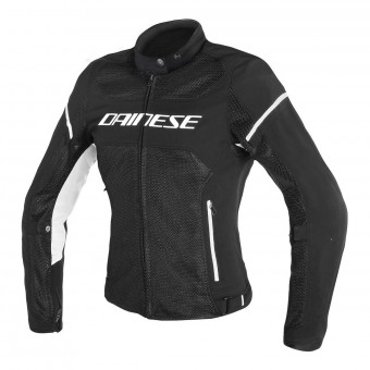 Blouson Moto Dainese Air Frame D1 Lady Black White