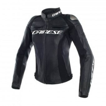 Blouson Moto Dainese Racing 3 Lady Black