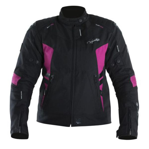 Blouson Moto V'Quattro SP-21 Lady Black Pink