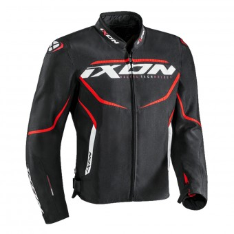 Blouson Moto Ixon Sprinter Black Red
