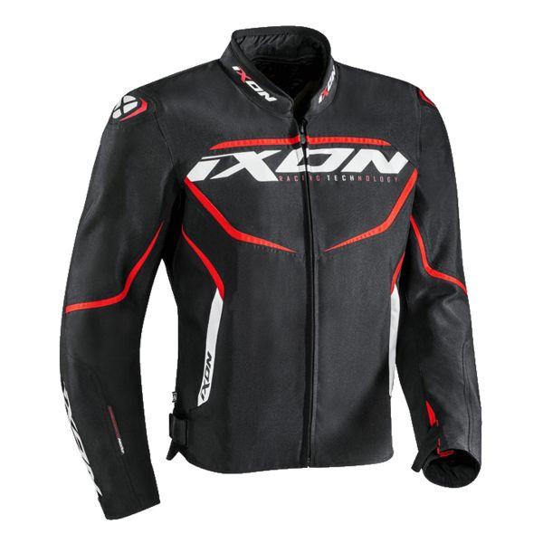 Blouson Moto Ixon Sprinter Black Red