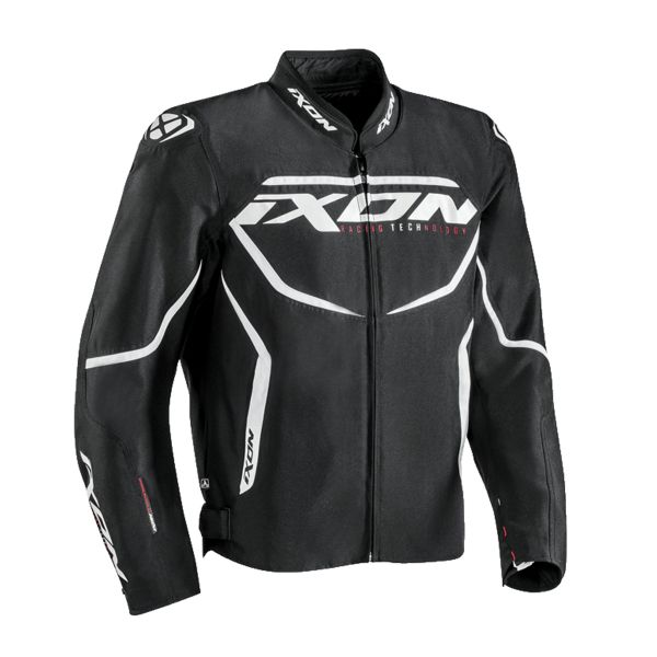 Blouson Moto Ixon Sprinter Black White
