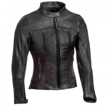 Blouson Moto Ixon Crank Lady Noir