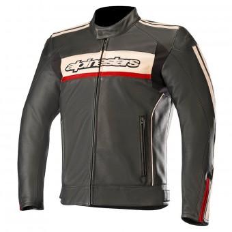 Blouson Moto Alpinestars Dyno V2 Black Stone Red