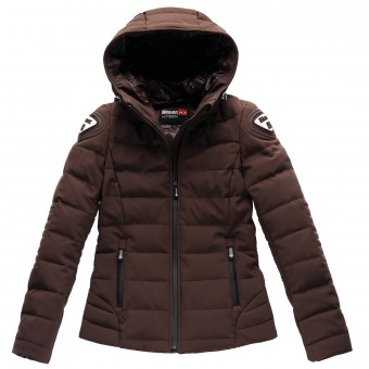 Veste Moto Blauer Easy Winter Femme Marron