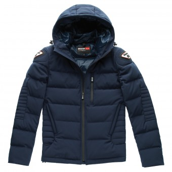 Veste Moto Blauer Easy Winter Man Bleu Navy