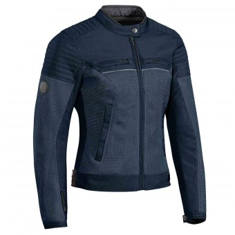 Blouson Moto Ixon Filter Lady Navy