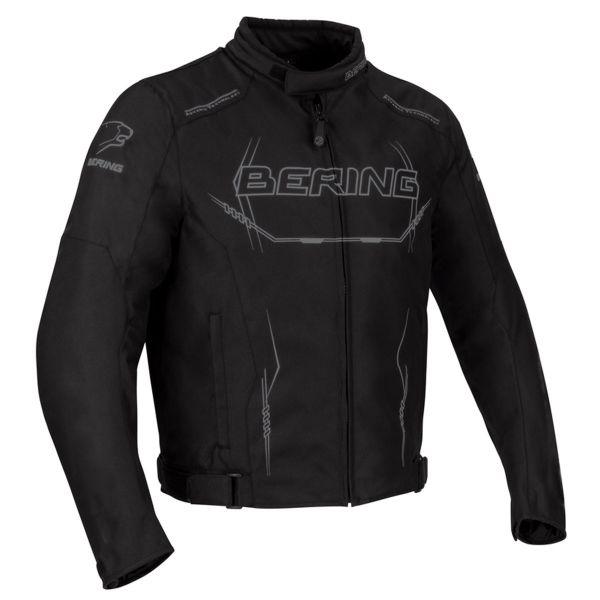 Blouson Moto Bering Forcio Noir Gris