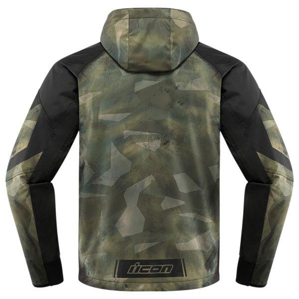 ICON Merc Battlescar Military Green Black