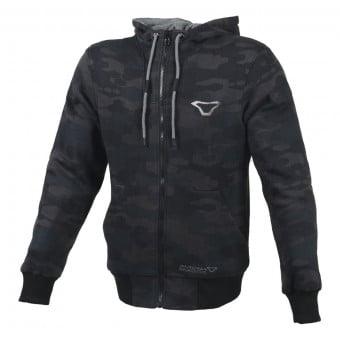 Blouson Moto Macna Nuclone Camo Black Grey