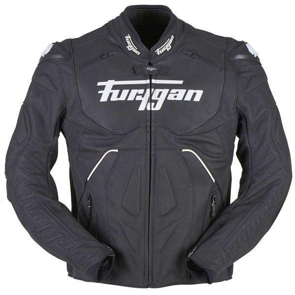 Blouson Moto Furygan Raptor Evo Black White