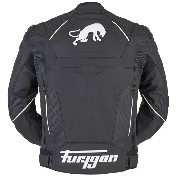 Furygan Raptor Evo Black White