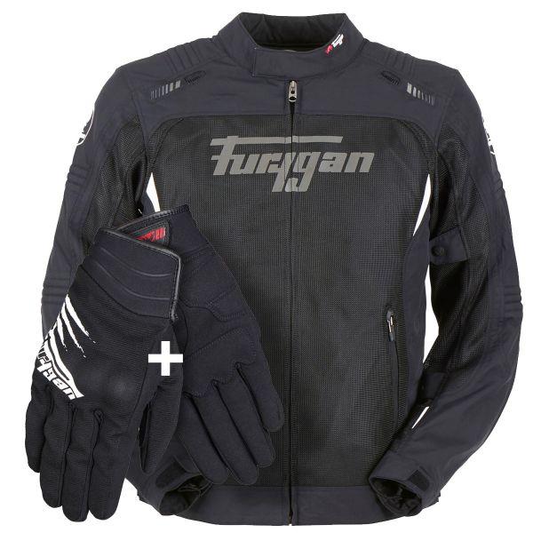 Blouson Moto Furygan RiderPack Summer 01 - Blouson + Gants