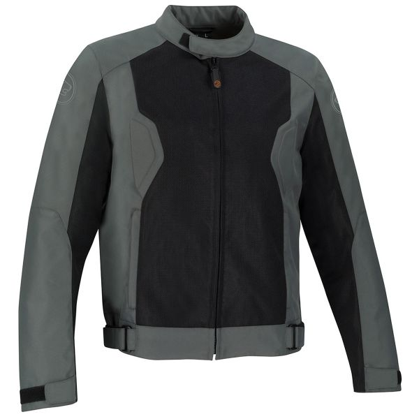 Blouson Moto Bering Riko Grey Black