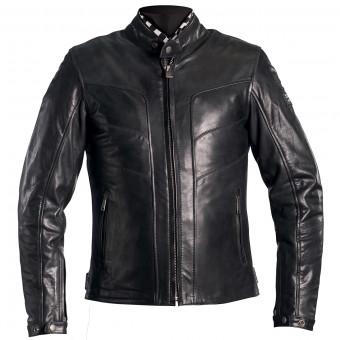 Blouson Moto Helstons River Leather Black