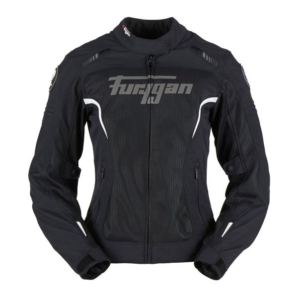 Blouson Moto Furygan Soho Lady Black