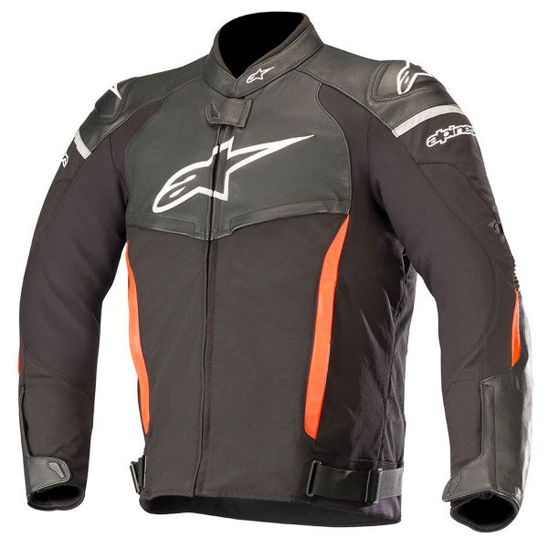 Blouson Moto Alpinestars SP X Black Red Fluo