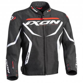 Blouson Moto Ixon Sprinter Kid Black White