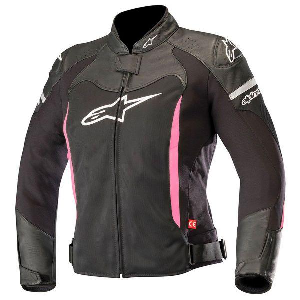 blouson moto alpinestars stella sp x air black fuchsia en stock. Black Bedroom Furniture Sets. Home Design Ideas
