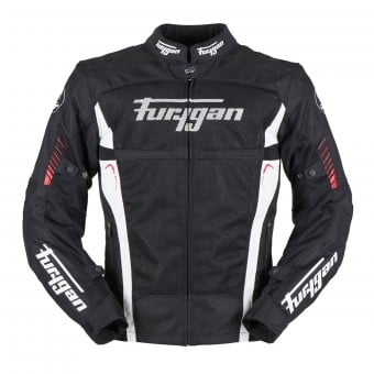 Blouson Moto Furygan Swirl Vented 3in1 Black Red White