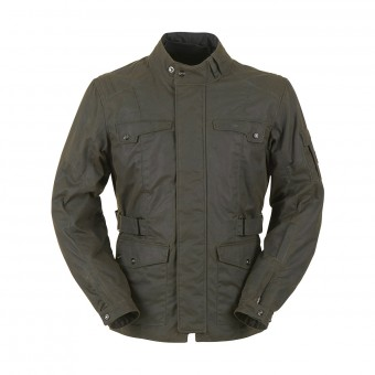 Veste Moto Furygan Thruxton Marron Antik
