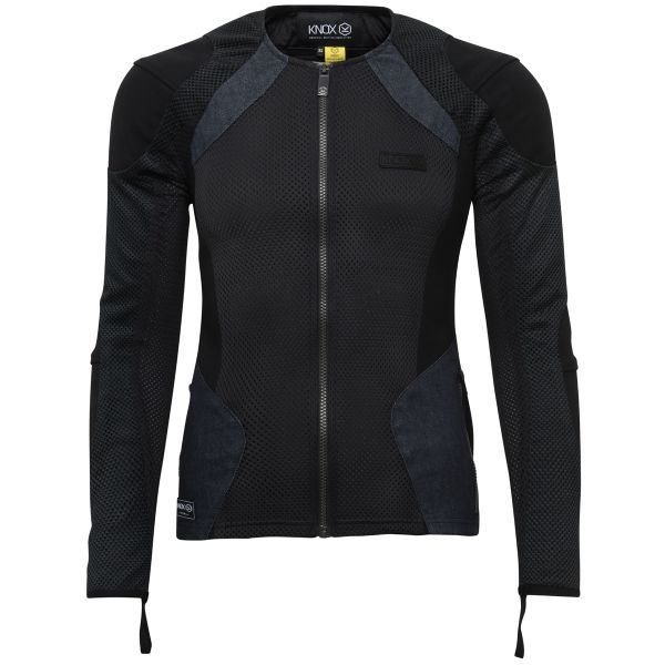 Blouson Moto Knox Urbane Pro Women Black Denim