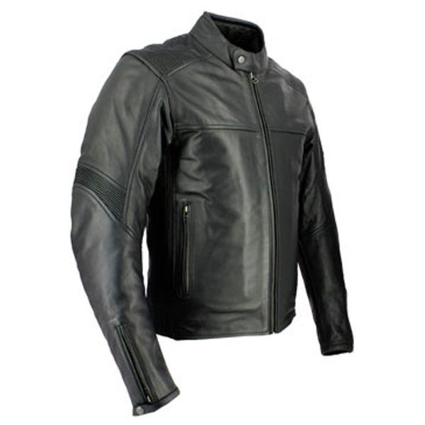 Blouson Moto Soubirac Utah Noir